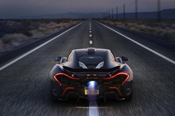 Новый автомобиль макларен