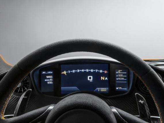 Руль и приборная панель McLaren P1 2014