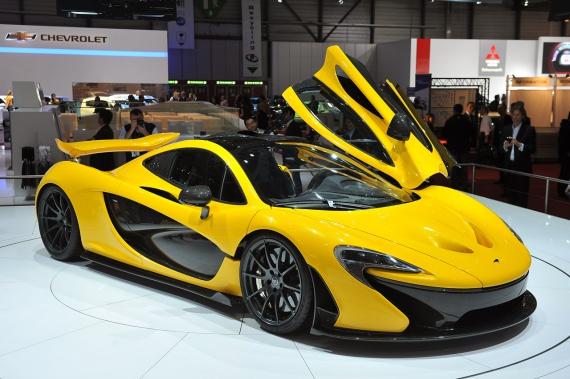 Новый McLaren P1 в автосалоне Женевы